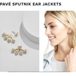 NWOT BaubleBar Gold Ear Jackets